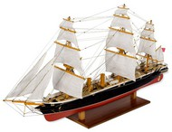 Constructo Wood Models  1/200 HMS Warrior 3-Masted British Ironclad Warship w/plank-on frame (Advanced) CNS80845