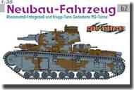 Cyber-Hobby  1/35 Neubau-Fahrzeug, Rheinmetall-Fahrgestell und Krupp-Turm- Net Pricing CHC6666