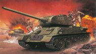 Chinese Volunteer T-34/85 with Figures #CHC9158