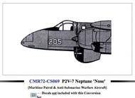 Lockheed P2V-7B Neptune fighter nose conversion #CMR-CS69