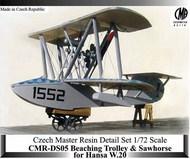 Beaching Trolley for Hansa-Brandenberg W.20 flying boat #CMR-DS05