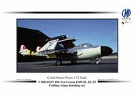 de Havilland Sea Venom FAW.21 / FAW.22 / FAW.53 Folding Wings detailing set #CMR-DS07