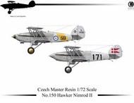 Hawker Nimrod Mk.II Decals 801 Sqn FAA HMS Furious. 802 Sqn HMS Glorious #CMR1150