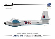 Westland Welkin Mk.I re-issue, decals included #CMR72-132