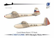 Olympia Meise with decals (gliders) Olympia Meise #CMR72-G5006