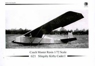 Slingsby Kirby Cadet Mk.1 with decals (gliders) #CMR72G5021