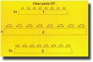 CMK Czech Master  1/32 Navigation Lights - Clear CMK010