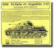 CMK Czech Master  1/72 Pz. Kpfw. IV-Kugelblitz Conversion CMK2006