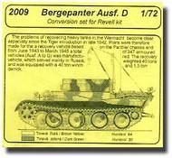 CMK Czech Master  1/72 Bergepanther Conversion CMK2009