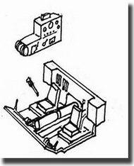 CMK Czech Master  1/72 Elefant Driver's Compartment Detail Set CMK2032