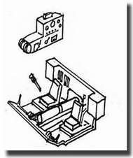 CMK Czech Master  1/72 Ferdinand Driver's Compartment Detail Set CMK2033