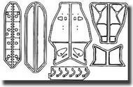CMK Czech Master  1/48 MiG-21 PF/MF/bis - undercarriage set for ACA CMK4077