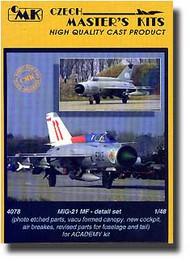 CMK Czech Master  1/48 MiG-21 PF/MF - Detail CMK4078
