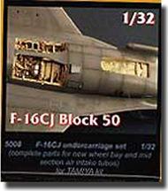 CMK Czech Master  1/32 F-16CJ Undercarriage Set CMK5008