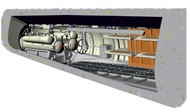 CMK Czech Master  1/72 German U-Boat Type IX C Rear Torpedo Section & Crew Bunks for RVL CMK72012