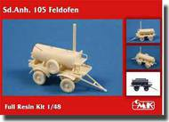 CMK Czech Master  1/48 Sd.Anh. 105 Feldofen/German Field Bakery CMK8037
