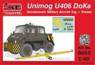 Unimog U406 DoKa Military Airport Tug + Towbar #CMK8055