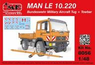 MAN LE 10.220 Bundeswehr Military Aircraft Tug + Towbar #CMK8056