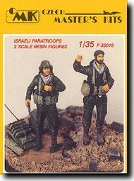 CMK Czech Master  1/35 Israeli Paratroopers Defense CMKF35015