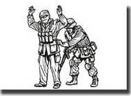 CMK Czech Master  1/35 Iraq Warrior and MP Soldier CMKF35199