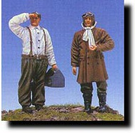 CMK Czech Master  1/48 RFC Pilot & Mechanic 2 Figs. WW I CMKF48027