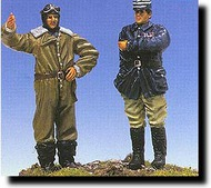 CMK Czech Master  1/48 French Pilot & Officer 2 Figs. WW I CMKF48028