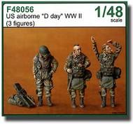 CMK Czech Master  1/48 US Airborne D-Day (3 Fig.) CMKF48056