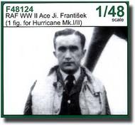 CMK Czech Master  1/48 RAF Aces J. Frantiek 1 fig for Hurricane Mk.I CMKF48124