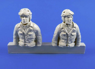 WWII US Tank Driver and Gunner(two semi figures) for Sherman #CMKF48312