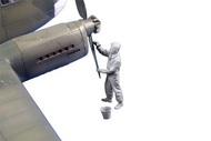 Siebel Si.204/Aero C-3 Rigger (prop maintenance) #CMKF48359
