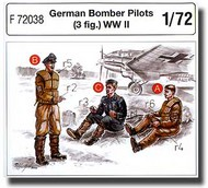CMK Czech Master  1/72 German Bomber Pilots (3 fig.) WW II CMKF72038