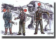 CMK Czech Master  1/72 Japanese Army Pilots (2 fig.) And Mechanics WW II CMKF72042