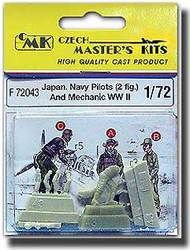 CMK Czech Master  1/72 Japanese Navy Pilots And Mechanics WW II CMKF72043