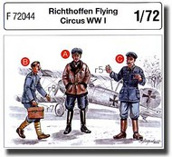 CMK Czech Master  1/72 Richthoffen Flying Circus WW I (3 fig.) CMKF72044