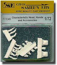 CMK Czech Master  1/72 Characteristic Head, Hands and Acces CMKF72049