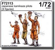 CMK Czech Master  1/72 Japanese Kamikaze Pilots 3 Fig. CMKF72113