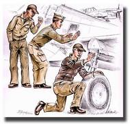 CMK Czech Master  1/72 US Army (Aircraft) Mechanics WW II CMKF72114