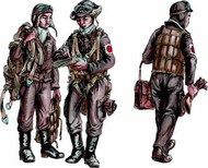 CMK Czech Master  1/72 Japanese Army AF Bomber Crew Members, WW II CMKF72289