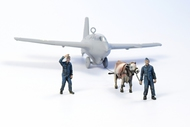 CMK Czech Master  1/72 Towing Ox with 2 Luftwaffe ground crew figures CMKF72346