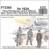 Heinkel He.162A Spatz - Three Pilot figures, each in different gear #CMKF72365