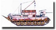 CMK Czech Master  1/87 Bergepanther Ausf.D CMKHOV005