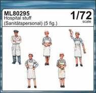 CMK Czech Master  1/72 Hospital staff CMKML80295