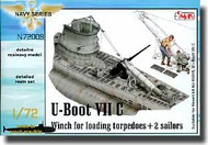 CMK Czech Master  1/72 U-Boot VIIC Winch for Loading Torpedoes CMKN72009