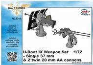 CMK Czech Master  1/72 U-Boot IX Weapon Set for REV CMKN72018