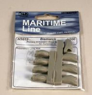 CMK Czech Master  1/200 Primary Armament Blast bags(8pcs) for Trump. CMKNS012