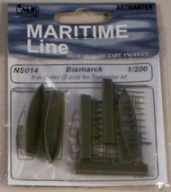 CMK Czech Master  1/200 8 m Cutter (2pcs) with paddles for Trupeter CMKNS014