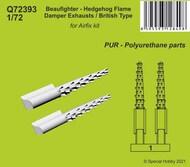 Bristol Beaufighter - Hedgehog Flame Damper Exhausts / British Type Hedgehog exhausts* #CMKQ72393