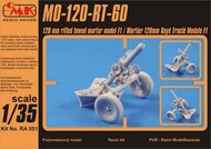 CMK Czech Master  1/35 MO-120-RT-61,120mm rifled towed mortar F1 CMKRA051