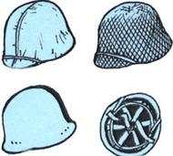 CMK Czech Master  1/35 US WW2 Helmets (6 pcs) CZB35083