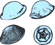 CMK Czech Master  1/35 British WW2 Desert Rats Helmets (6 pcs) CZB35084